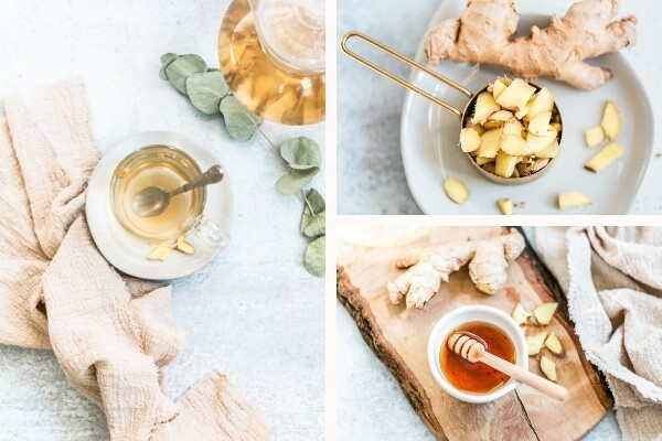 These beautiful ginger honey tea stock photos by Wellness Stock Shop are perfect for your health or wellness blog, social media, website and more.